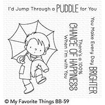 My Favorite Things Clear Stamps, Puddle Jumper by Birdie Brown - 849923025239