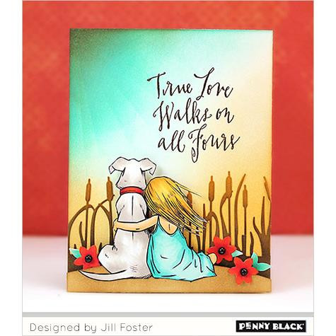 Penny Black Clear Stamps, Gentle Thoughts - 759668304851