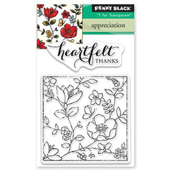 Penny Black Clear Stamps, Appreciation - 759668304882