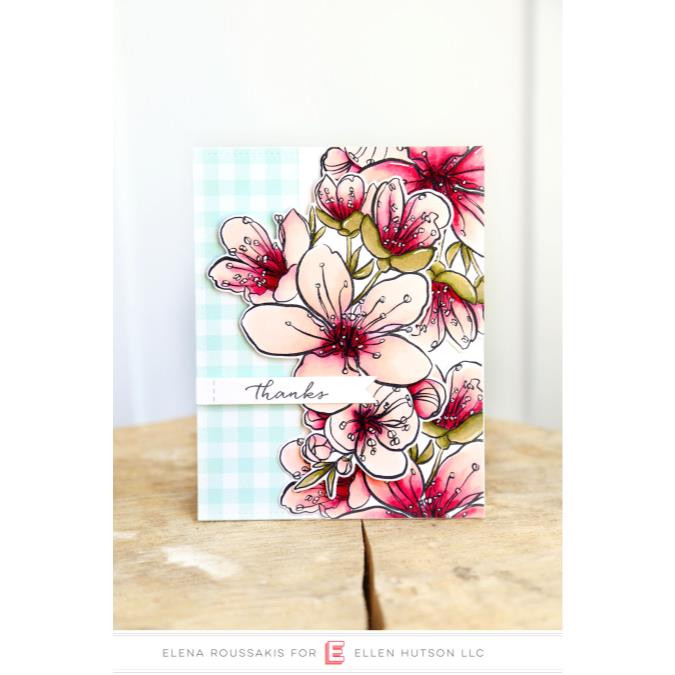 Essentials By Ellen Clear Stamps, Mondo Sakura by Julie Ebersole -