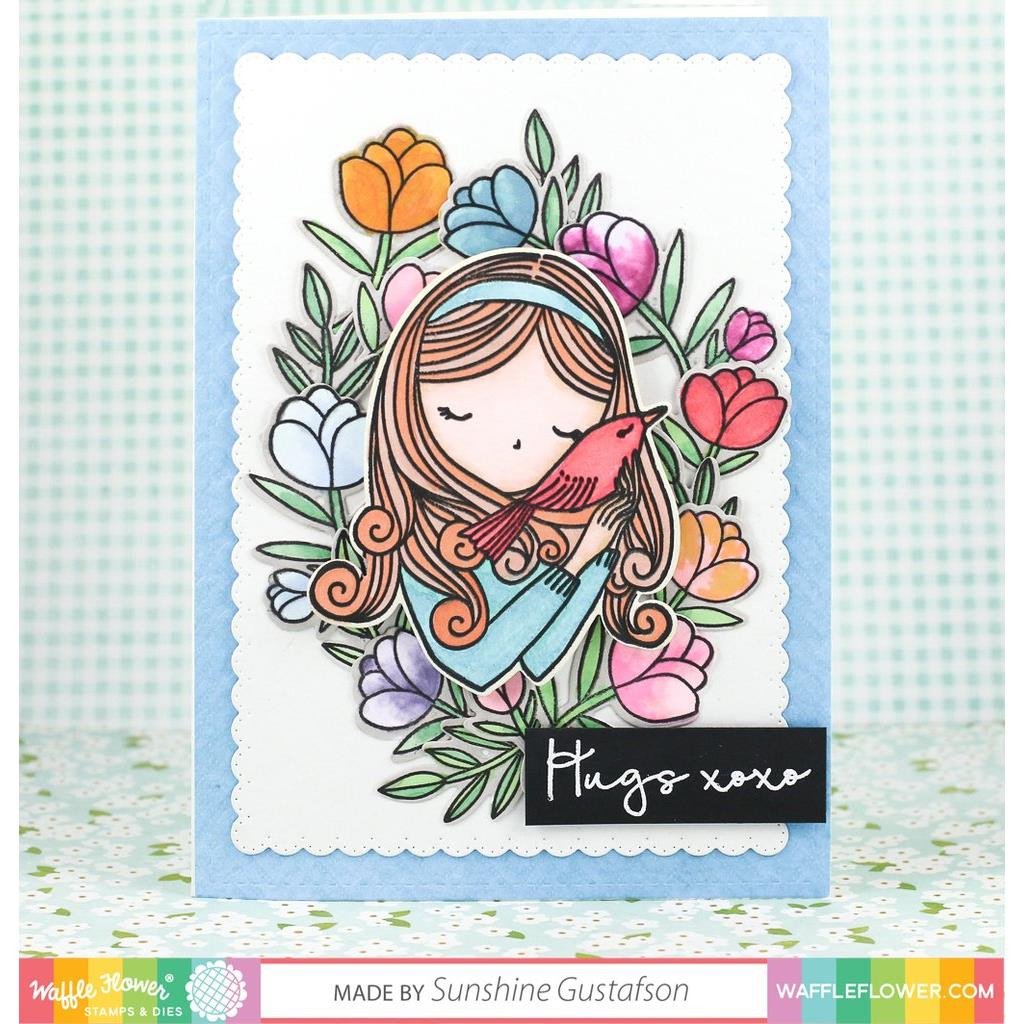 Waffle Flower Clear Stamps, Always - 653341232335