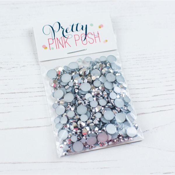 Pretty Pink Posh Jewels, Metallic Silver -