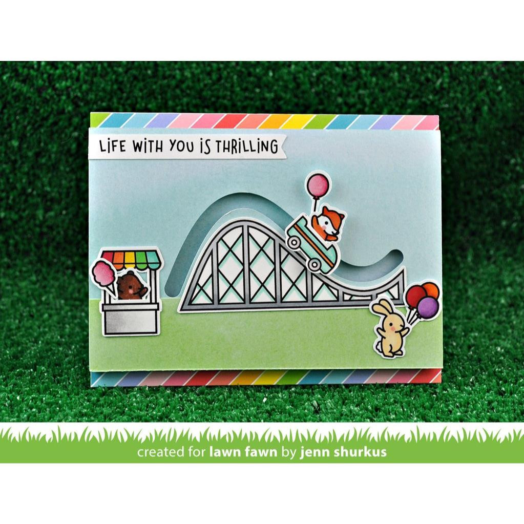 Coaster Critters Slide On Over Add On, Lawn Cuts Dies - 352926703641