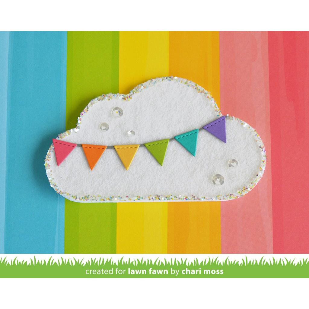 Lawn Cuts Dies, Outside In Stitched Cloud Stackables - 352926705638