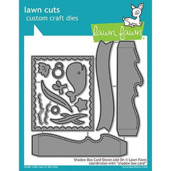 Lawn Cuts Dies, Shadow Box Card Ocean Add-On - 352926704570