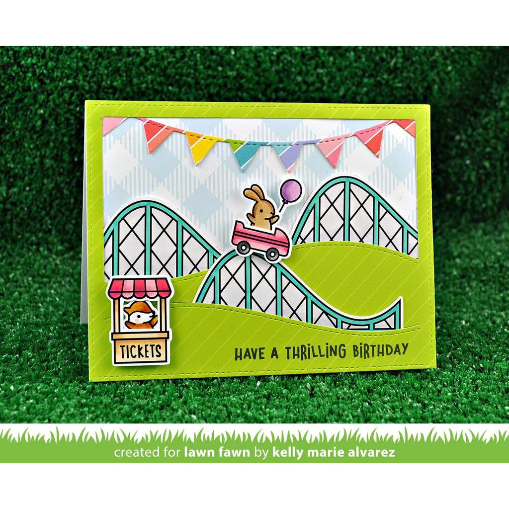 Coaster Critters, Lawn Fawn Clear Stamps - 352926703412
