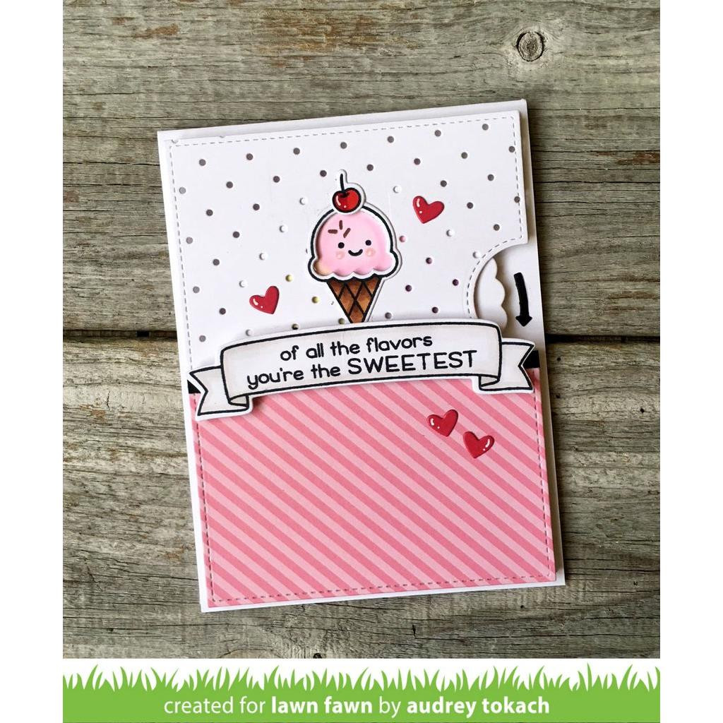 Sweetest Flavor, Lawn Fawn Clear Stamps - 352926703894