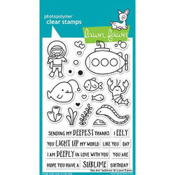 Lawn Fawn Clear Stamps, You Are Sublime - 352926702668