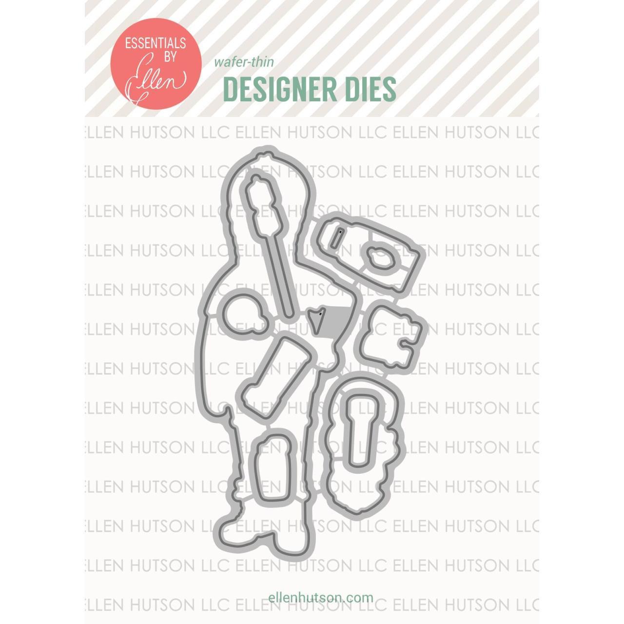 Essentials by Ellen Designer Dies, Leading Ladies - Woodsy Lady by Brandi Kincaid -