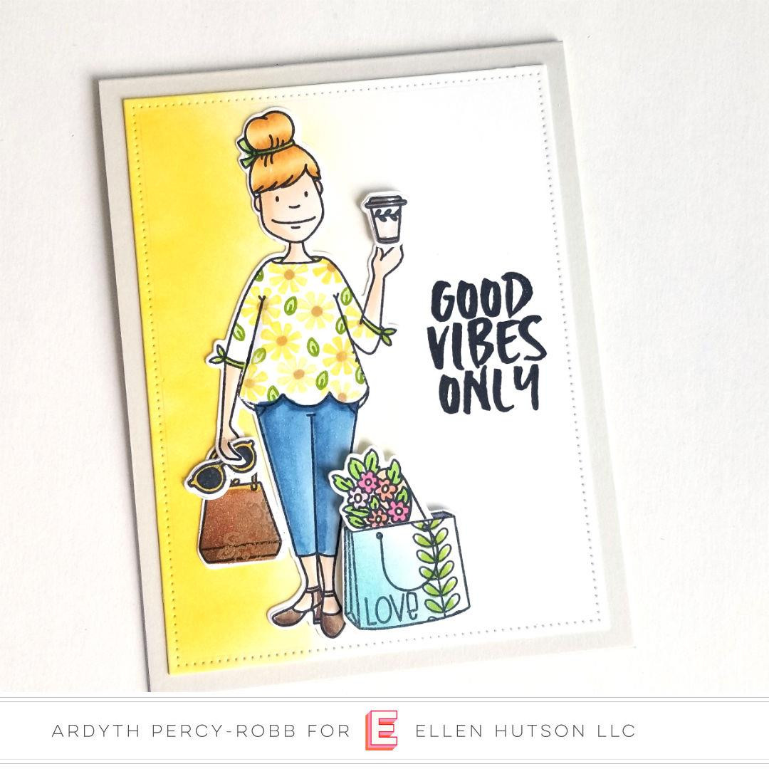 Essentials by Ellen Clear Stamps, Leading Ladies - City Lady by Brandi Kincaid -