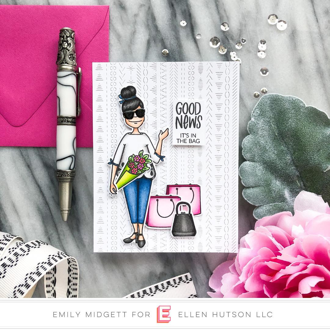 Leading Ladies - City Lady by Brandi Kincaid, Essentials by Ellen Clear Stamps -