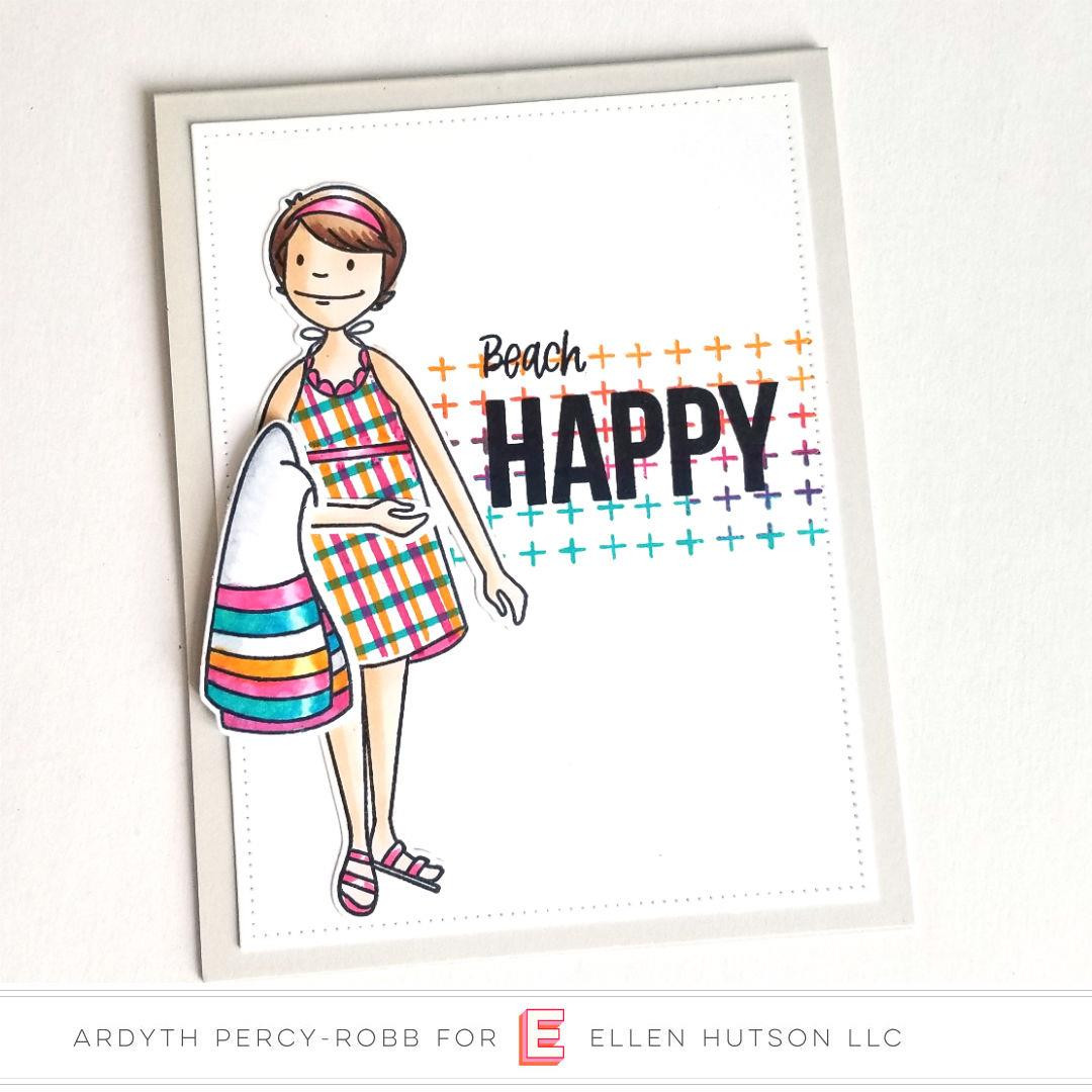 Essentials by Ellen Clear Stamps, Pattern Play by Brandi Kincaid -