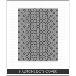 Studio Katia Dies, Halftone Dots Cover Panel -