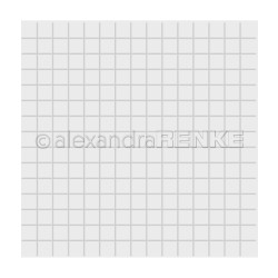 Alexandra Renke Embossing Folder, Square Grid -