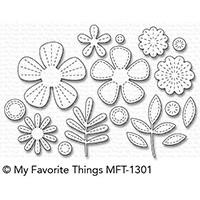 My Favorite Things Die-Namics, Stitched Blooms - 849923025963