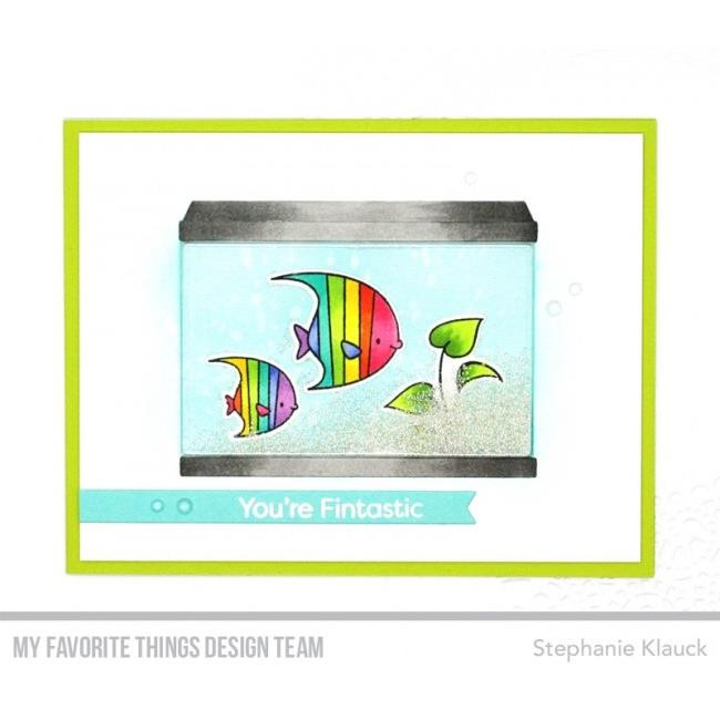 My Favorite Things Clear Stamps, Gill Friends by Birdie Brown - 849923025857