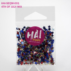 Festive 4th of July Mix, HAI Sequins -
