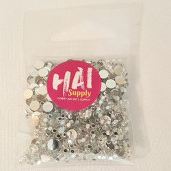 Silver Crystals Mixed, HAI Sequins - 716686680312