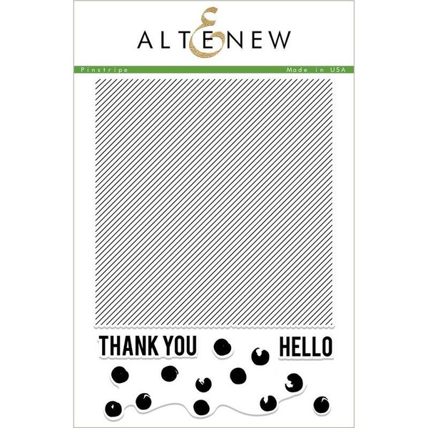 Altenew Clear Stamps, Pinstripe - 655646169088