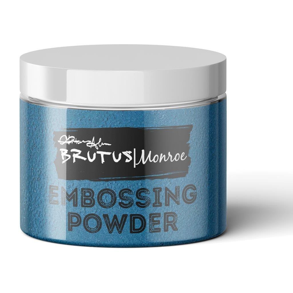 Brutus Monroe Embossing Powder, Mermaid Lagoon - 735424519752