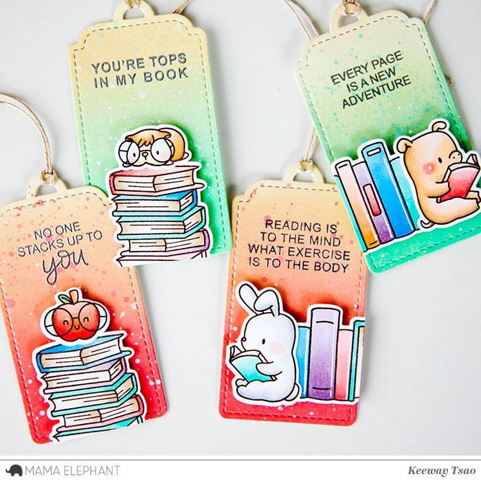 Mama Elephant Clear Stamps, Good Reads -
