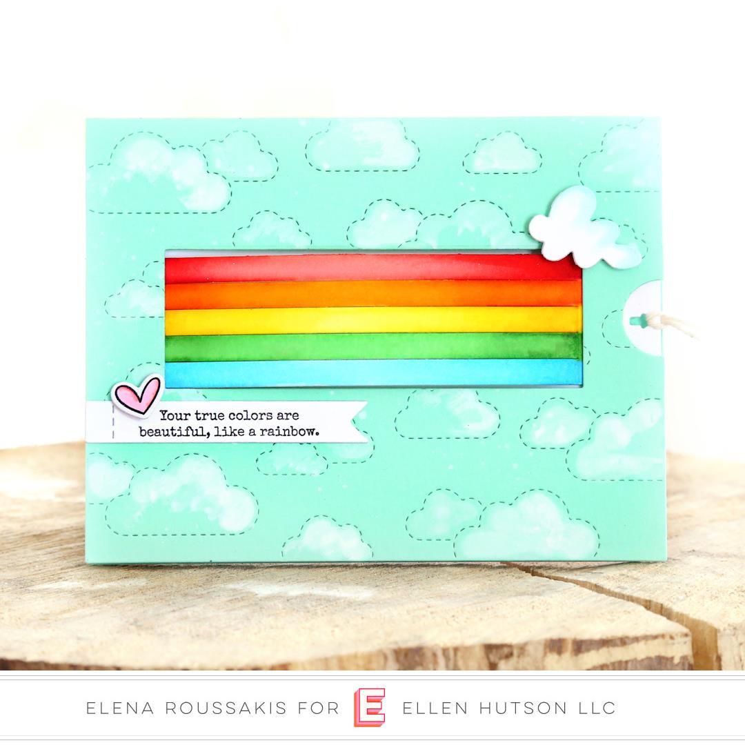 Rainbow Slider By Julie Ebersole, Essentials By Ellen Designer Dies -