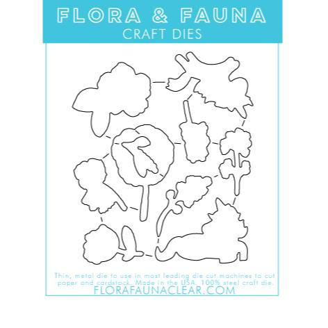 Flora & Fauna Dies, Unicorn Fields - 796258444924