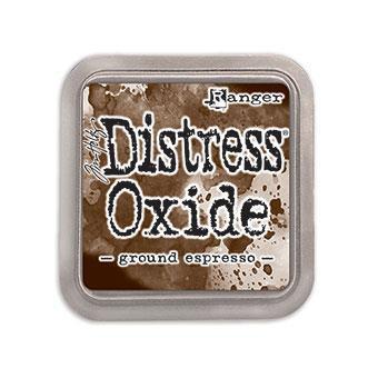 Ground Espresso, Ranger Distress Oxide Ink Pad -