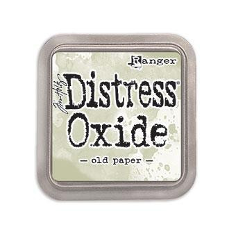 Ranger Distress Oxide Ink Pad, Old Paper -