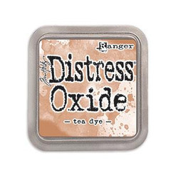 Ranger Distress Oxide Ink Pad, Tea Dye -