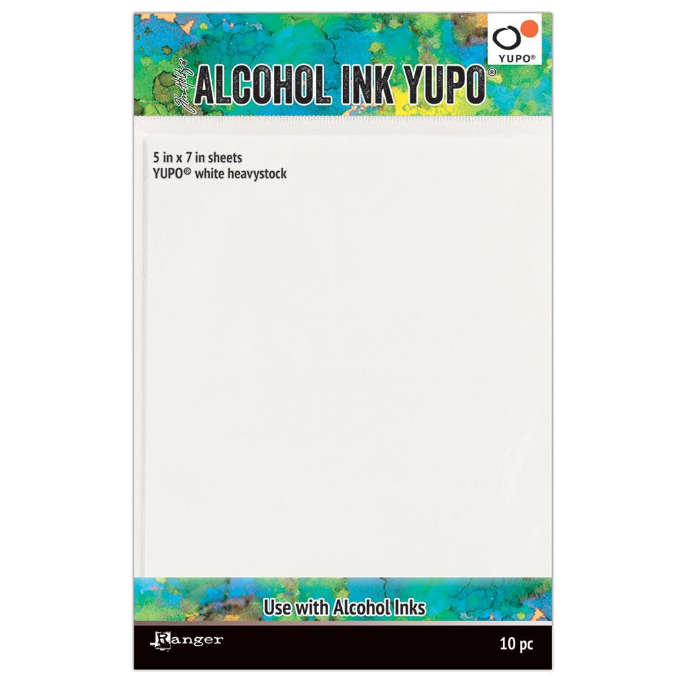 Ranger Alcohol Ink Yupo Paper, White Heavyweight 5 X 7 -