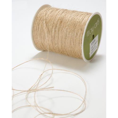 String by the Spool, Natural Burlap -