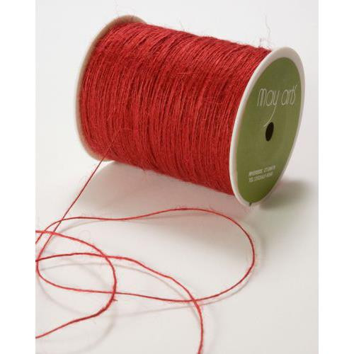 String by the Spool, Red Burlap -