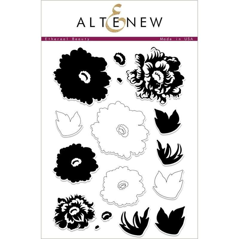 Altenew Clear Stamps, Ethereal Beauty - 655646169767