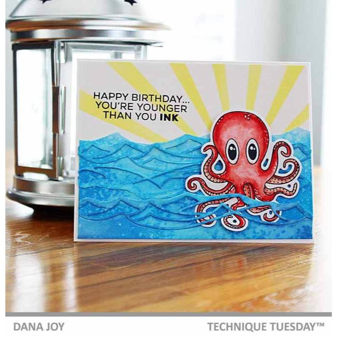 Olive The Octopus, Technique Tuesday Dies - 811784027066