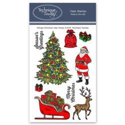 Vintage Christmas, Technique Tuesday Clear Stamps - 811784026991