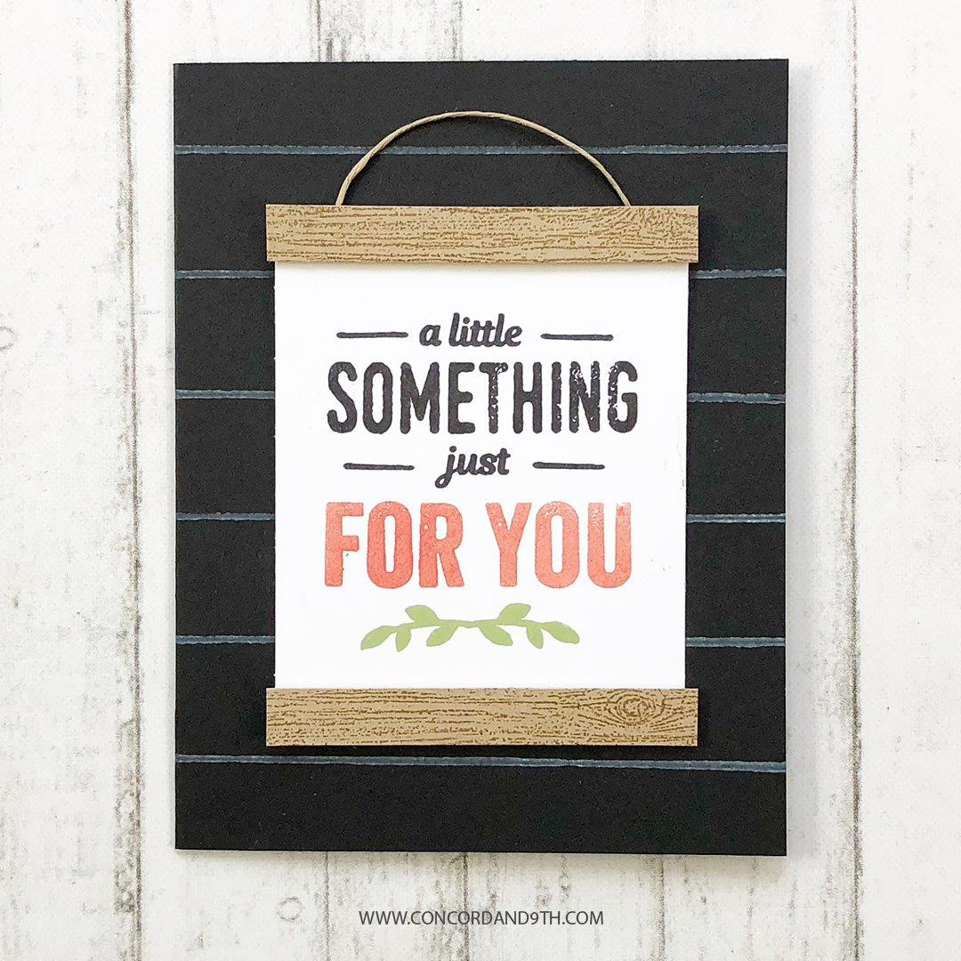 Shiplap Sentiments, Concord & 9th Clear Stamps - 902223992806