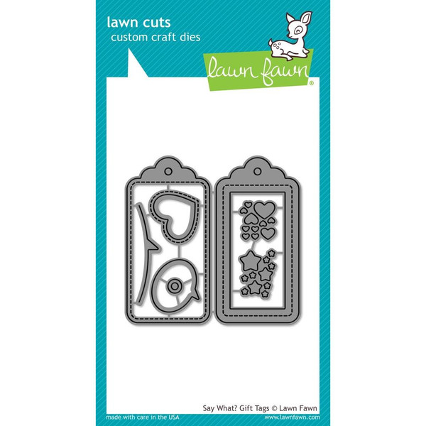 Say What? Gift Tags, Lawn Cuts Dies - 352926711332