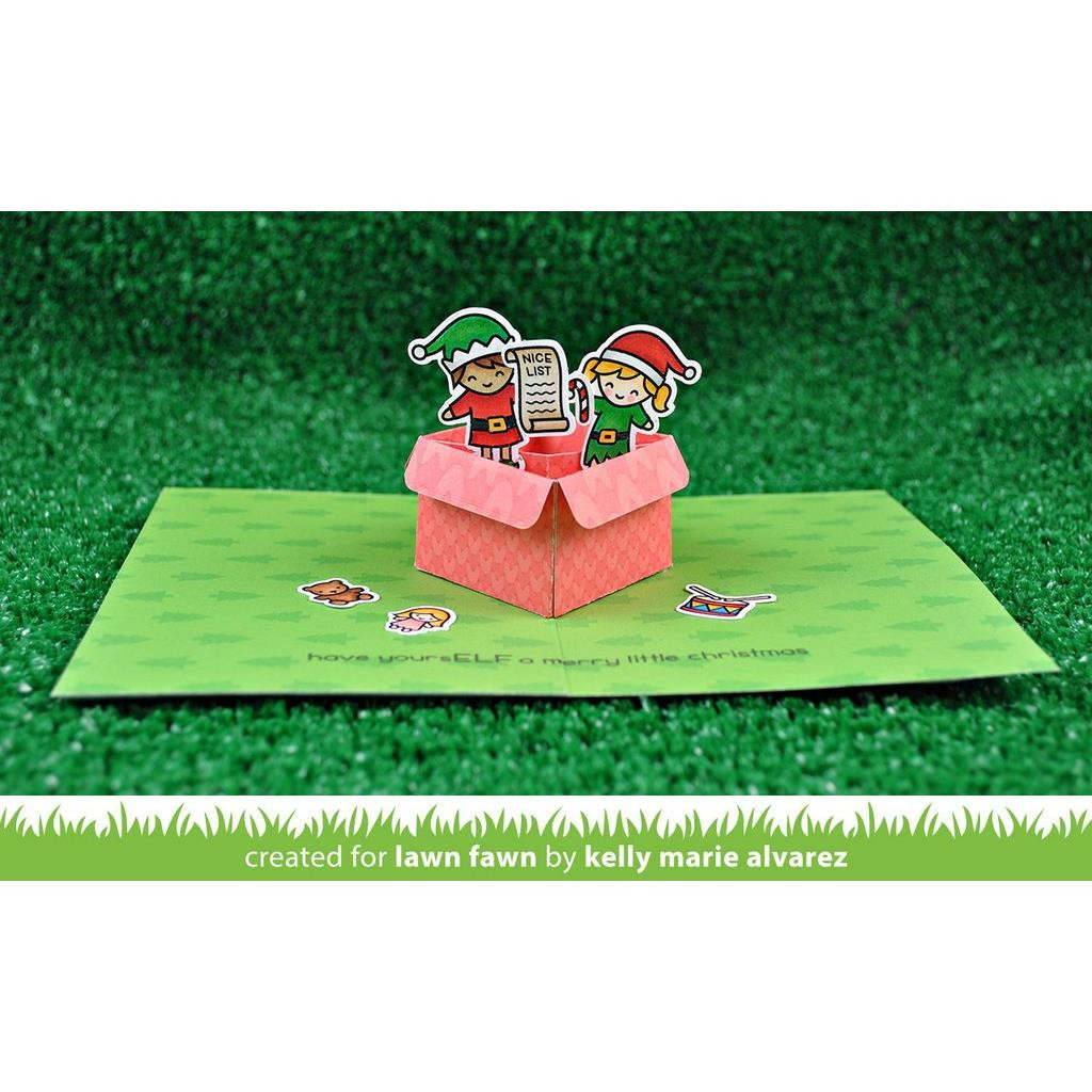 Mini Pop-up Box, Lawn Cuts Dies - 352926711578