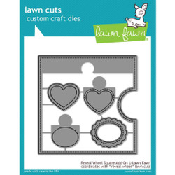 Reveal Wheel Square Add-On, Lawn Cuts Dies - 352926712490