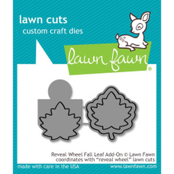 Reveal Wheel Fall Leaf Add-On, Lawn Cuts Dies - 352926712636