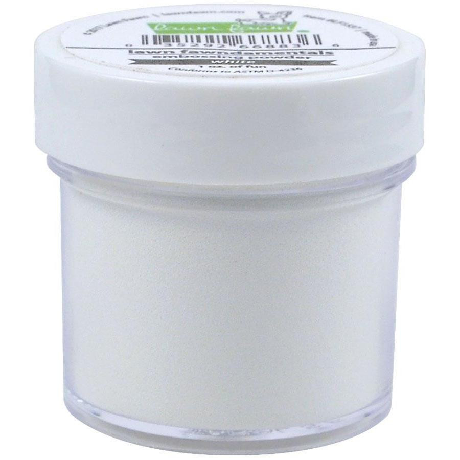 Textured White, Lawn Fawn Embossing Powder - 352926714616