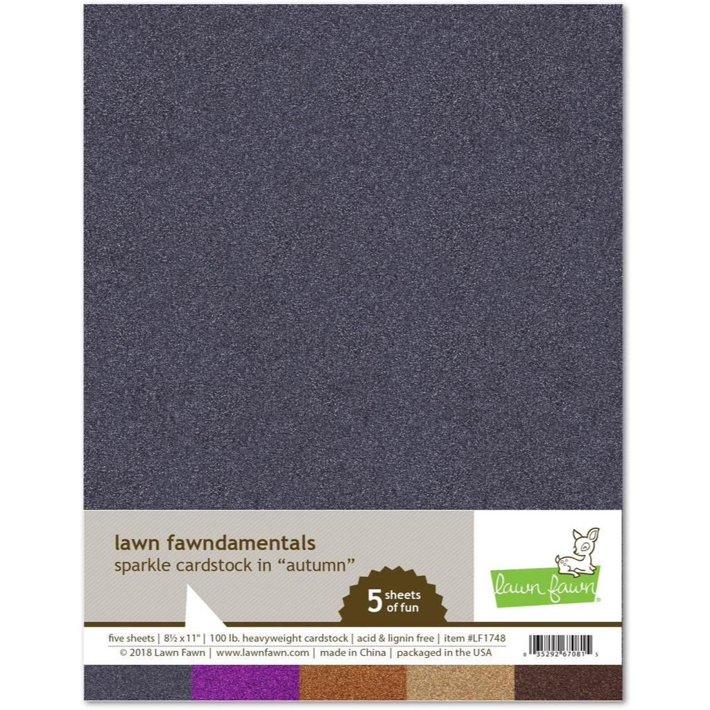 Sparkle Cardstock - Autumn, Lawn Fawn Cardstock - 352926708158