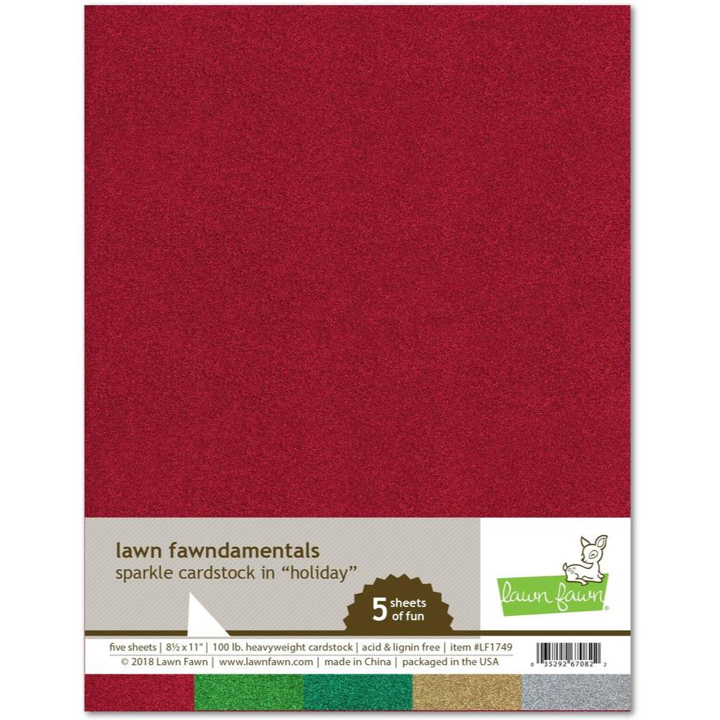 Sparkle Cardstock - Holiday, Lawn Fawn Cardstock - 352926708226