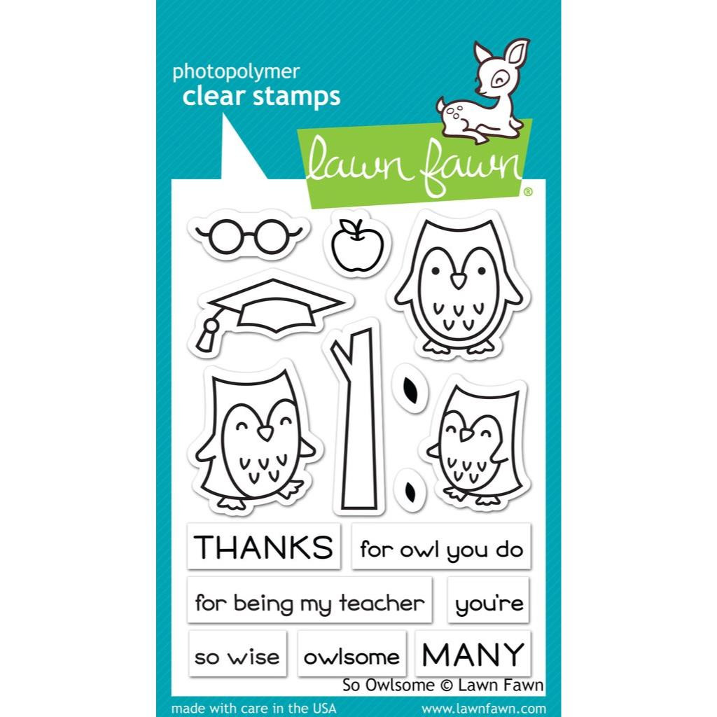 So Owlsome, Lawn Fawn Clear Stamps - 352926709070