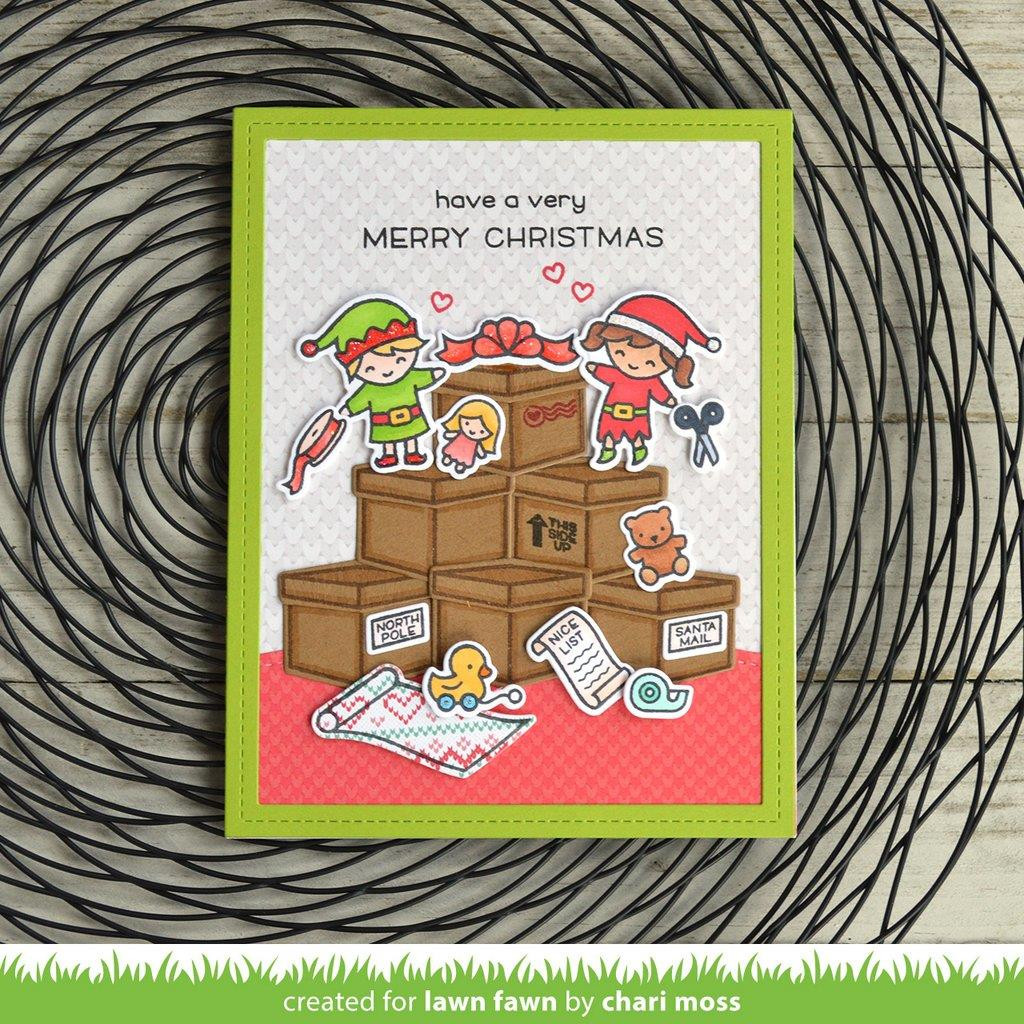 Holiday Helpers, Lawn Fawn Clear Stamps - 352926710038