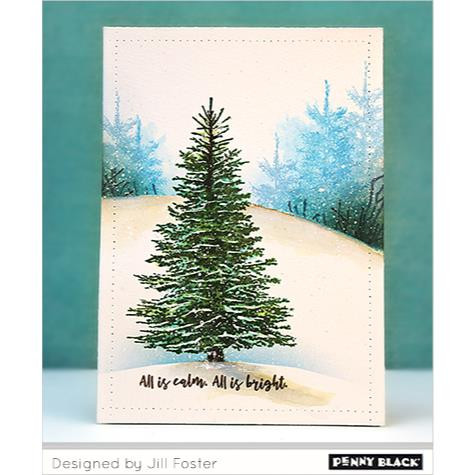 Penny Black Cling Stamps, Winter Tree - 759668406296