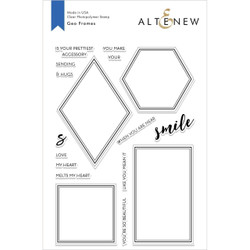 Geo Frames, Altenew Clear Stamp Set - 655646170350