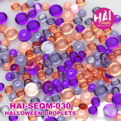 Halloween Droplets, HAI Sequins -