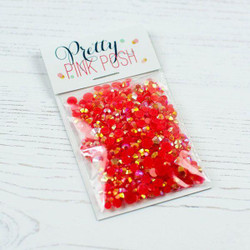 Raspberry, Pretty Pink Posh Jewels -
